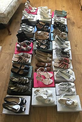 30 Pairs Of Ladies And Kids Shoes New