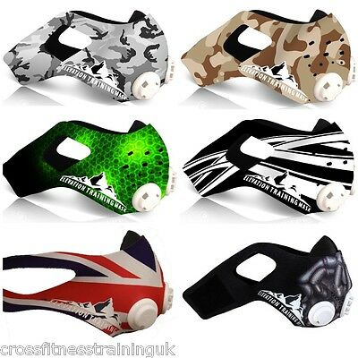 Elevation Training Mask 2.0 Manches Divers Coloris Changeable Housse