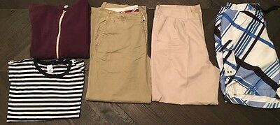 Mens Clothing Job Lot Trousers Hoodie T-Shirt Board Shorts Crew Clothing