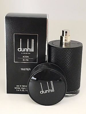 Dunhill Icon Elite by Alfred Dunhill 3.3 3.4 oz/100 ml EDP -NEW IN BLACK TST BOX