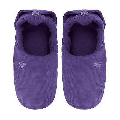 Aroma Home Microwave Feet Warmers Lavender Scented Microwavable Slippers