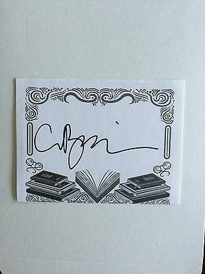 Clive Barker, Author Signed Bookplate