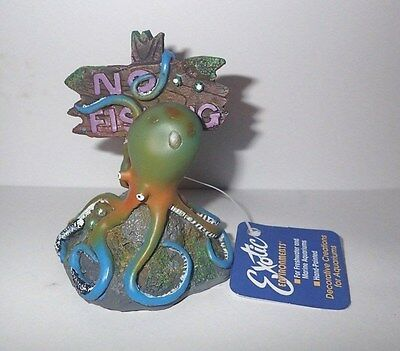 Small Octopus No Fishing Aquarium Fish Tank Ornament Decoration