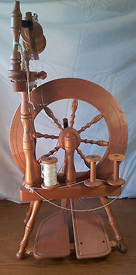 Ashford Traveller Spinning Wheel, Assembled but Never Used With Instructions