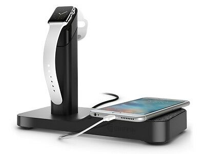 Griffin Powered Station WatchStand & Cord Management for Apple Watch & iPhone