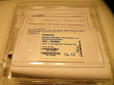 New Siemens Pad-3 Nac Booster Board, Nib (9+ Available)