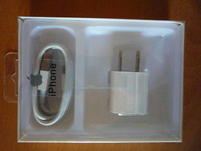 1M Lightning USB OEM Cable + Wall Charger Apple iPhone 6s Plus 6 Charger Box