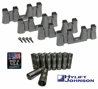 HYLIFT US-Made Roller Lifters+TRAYS+BOLTS for Chevy 5.3 5.7 6.0 LS1 LS2 LS3 LS7