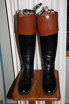 Vintage Bespoke Leather Riding Boots Marshall Field & Co. | Appx Mens Size 7