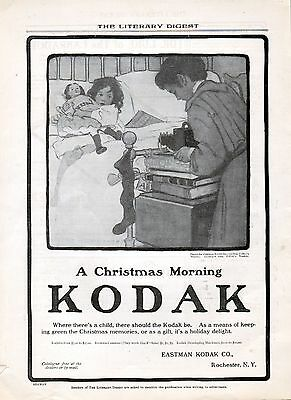 1904 Kodak Camera ad by ------Jessie Wilcox Smith ------x1101