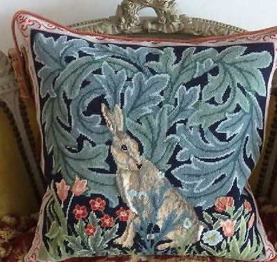 Ehrman Designer Beth Russell Tapestry Needlepoint Chart Pattern HARE CUSHION