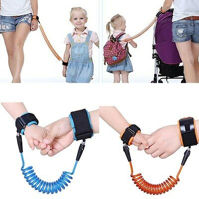 Safety Kids Baby Anti Lost Spring Rope Novelty Child Harness Band Belt Wristband