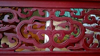 Antique wood carved work from old-time China