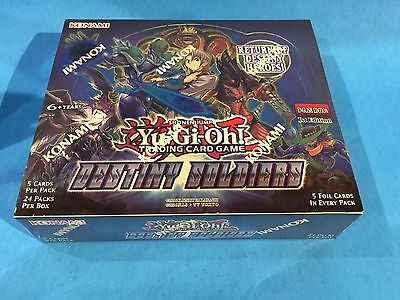 ( DESTINY SOLDIERS ) - 1st Editon - Booster Box - Sealed New! - Yu-Gi-Oh!