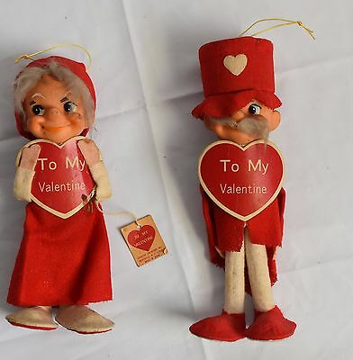Vintage Creative Creations Valentine Figurines Decorations Gifts Toy W/ Tags