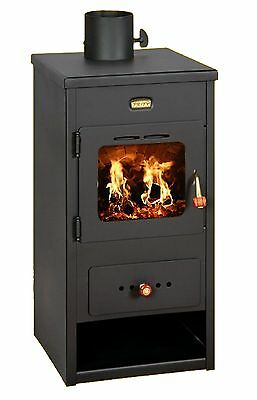 A Legna Stufa Camino Log Burner Policombustibile 8 kw Prity K1 Optima