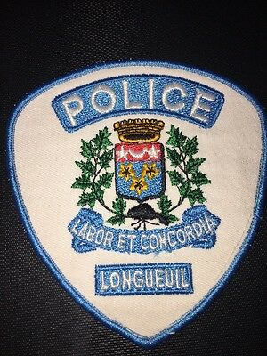 Ville Longueuil Police Patch Quebec
