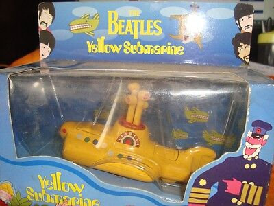 Diecast The Beatles Yellow Submarine toy Model  from China 1999