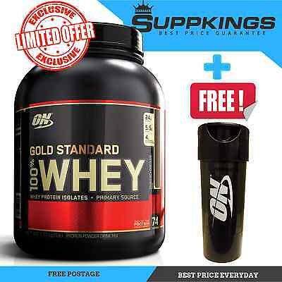 OPTIMUM NUTRITION 100% WHEY // 5LB 2.27kg GOLD STANDARD 10lbs WPI WPC PROTEIN ON