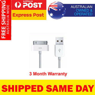 Original Genuine Apple iPhone 4 4S iPod Touch iPad 2 3 FAST Charger Data Cable