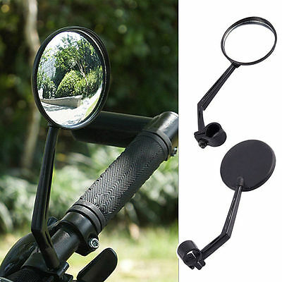 360 Degree Flexible Bicycle Bike Handlebar Rearview Vision Mirror Reflector