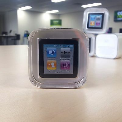 Brand New Apple iPod Nano 6th Gen 8GB Silver Mint Factory Sealed Rare Collection