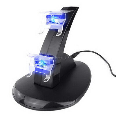 Dual LED Docking Charger Stand Station For Sony PS3 Wireless Controller DG