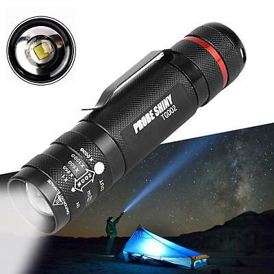 6000 LM Zoomables Mini CREE T6 LED Lampe Torche 5 Modes Super Bright Lumière AC