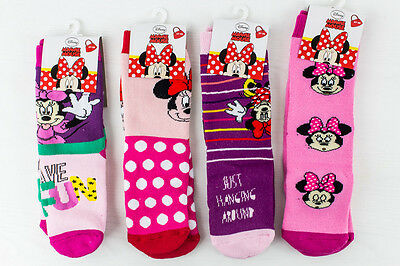 N. 4 PAIA CALZE ANTISCIVOLO DISNEY MINNIE MOUSE Art. 769-6569