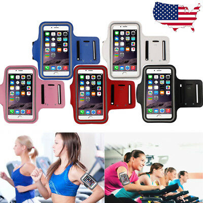US Sports Running Jogging Gym Cellphone Armband Arm Band Case Cover Holder Pouch