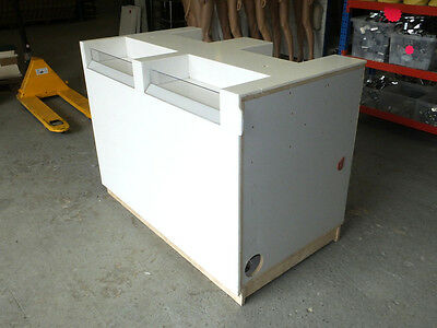 Used Corian Shop Retail Catering  Bespoke Counter ( £70.00 + Vat)
