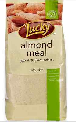 800 gms BLANCHED ALMOND MEAL Lucky brand - for 2 DAY delivery contact seller