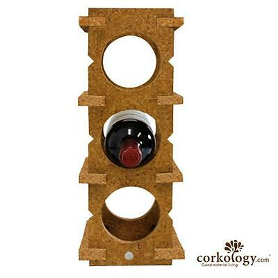 Corkology 6BWR-303 6 Bottle Wine Rack Light