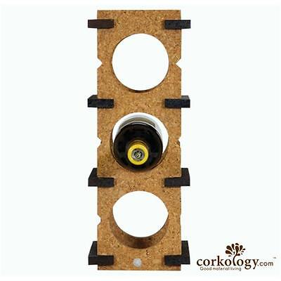 Corkology 6BWR-311 6 Bottle Wine Rack Light On Dark
