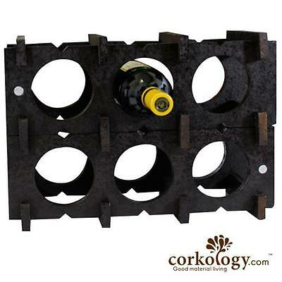 Corkology 9BWR-301 9 Bottle Wine Rack Dark