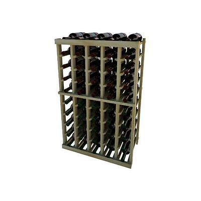 Wine Cellar Innovation Premium Redwood Vintner Series 5 Column Individual Rac...