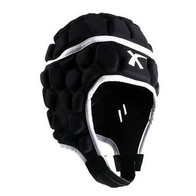 X Blades Elite Rugby Headguard Scrum Cap Head Protection Black