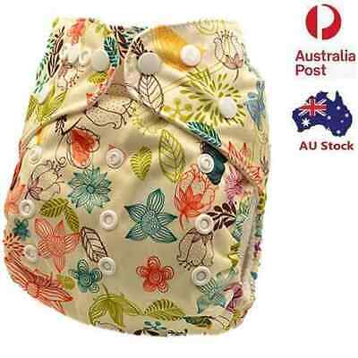 Reusable Modern Cloth Nappies Baby Girls Waterproof MCN Pocket Nappy Diaper D140