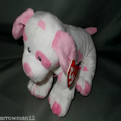 """BABY PUPS PINK ***TY PLUFFIE***2016 Style 31033 approx 7"""""""