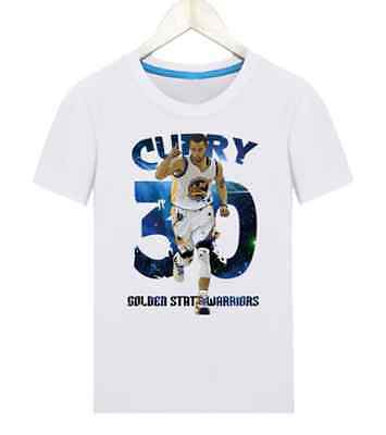 Golden State - Stephen Curry Sc 30 Kids Boys Girls Tops T Shirts Shirts White