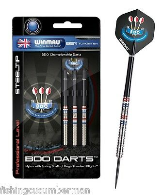 WINMAU BDO 85% TUNGSTEN DARTS SET 22g,24g,26g