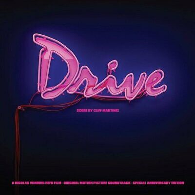 Cliff Martinez Drive 5th Anniversary Soundtrack NEON PINK vinyl 2 LP NEW/SEALED