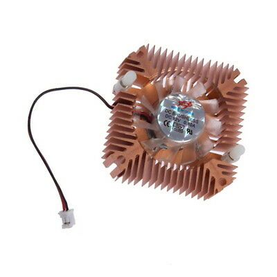 Fashion Design Metal Cooling Fan Heatsink Cooler For CPU VGA Video Card JR
