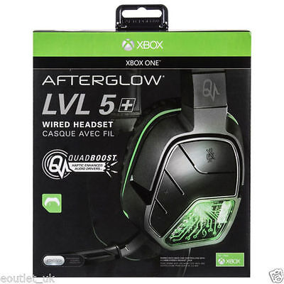 Pdp Afterglow Lvl 5 Plus Wired Headset (Xbox One) [Brand New]