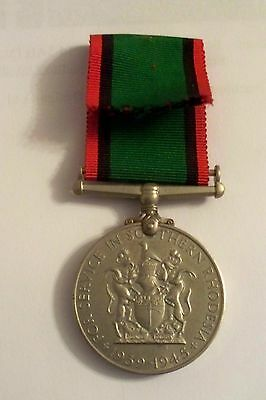 Southern Rhodesia War Service Medal
