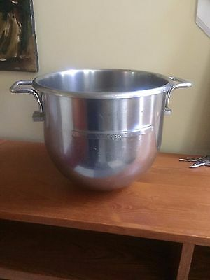 30 Quart Qt Stainless Steel Mixing Mixer Bowl for Hobart ? D30
