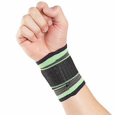 Actesso Sports Wrist Guard Support Strap - Tennis Golf Gym Boxing Squash Wrap