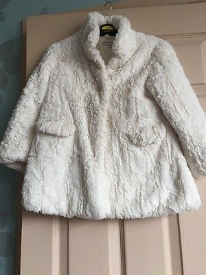 Beautiful Girls Autograph Fur Coat Age 4-5