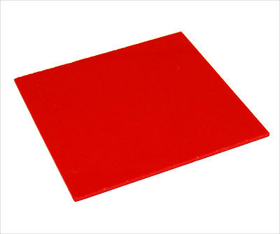Acrylic Sheet Red Gloss 3mm thickness Perspex CAST UV Rated Supply FREE POS