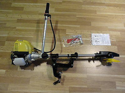 OUTBOARD MOTOR VERY LIGHT, KAYAK, INFLATABLE, light FISHING BOAT ENGINE 4 STROKE